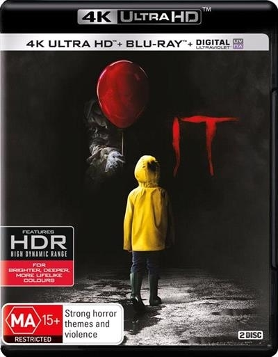 IT (2017) (4K Blu-ray + Blu-ray) on UHD Blu-ray