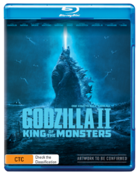 Godzilla: King of the Monsters on Blu-ray