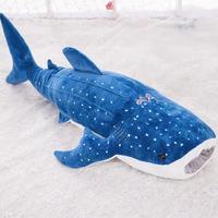 Hungry Shark Plush - Blue (75cm)