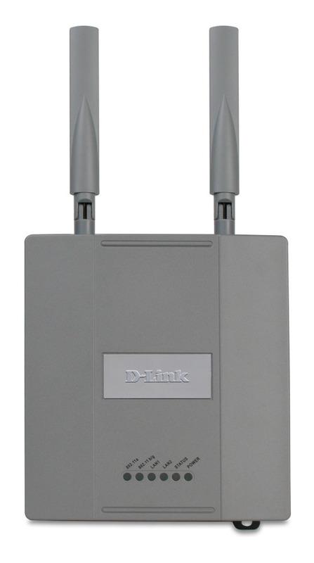 D-LINK Business Class 108Mb A/G Wireless LAN AP/Bridge
