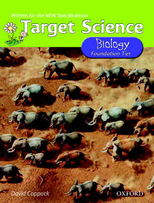 Target Science: Biology: Foundation Tier by David Coppock