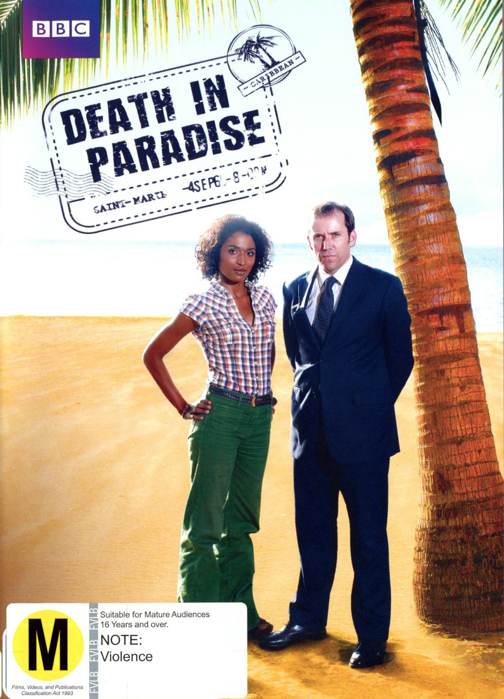 Death in Paradise - Series 1 on DVD image