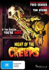 Night of the Creeps on DVD image