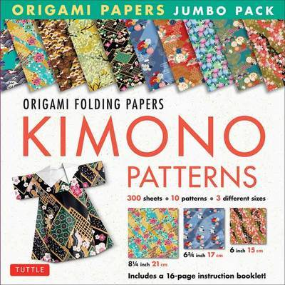 Origami Paper Jumbo Pack: Kimono Patterns by Tuttle Publishing