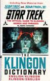 Klingon Dictionary by Marc Okrand