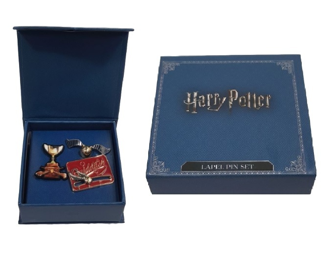 Harry Potter: Quidditch - Boxed Lapel Pin Set image