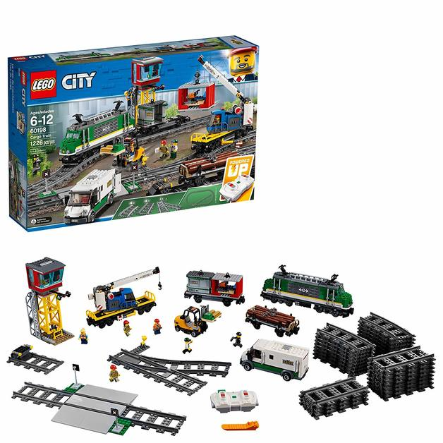 LEGO City: Cargo Train (60198) | Toy | at Mighty Ape NZ