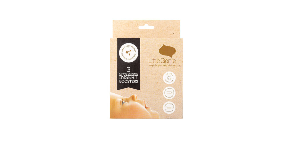 Little Genie: Bamboo Insert Boosters - 3pk image