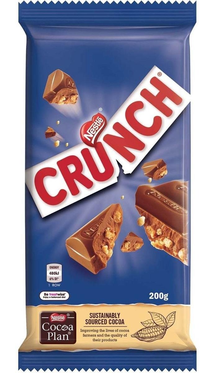 Nestle Crunch 200g (12 Pack) image