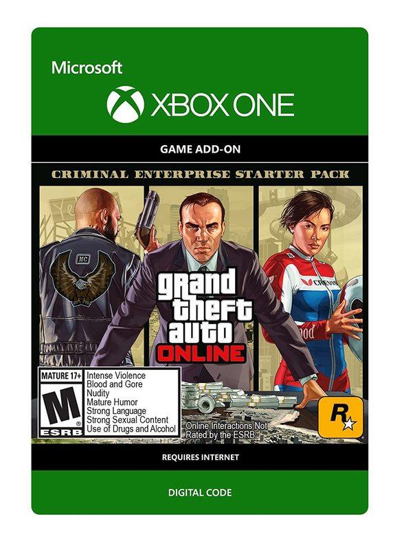 Grand Theft Auto V: Criminal Enterprise Starter Pack for Xbox One (Digital Code) for Xbox One