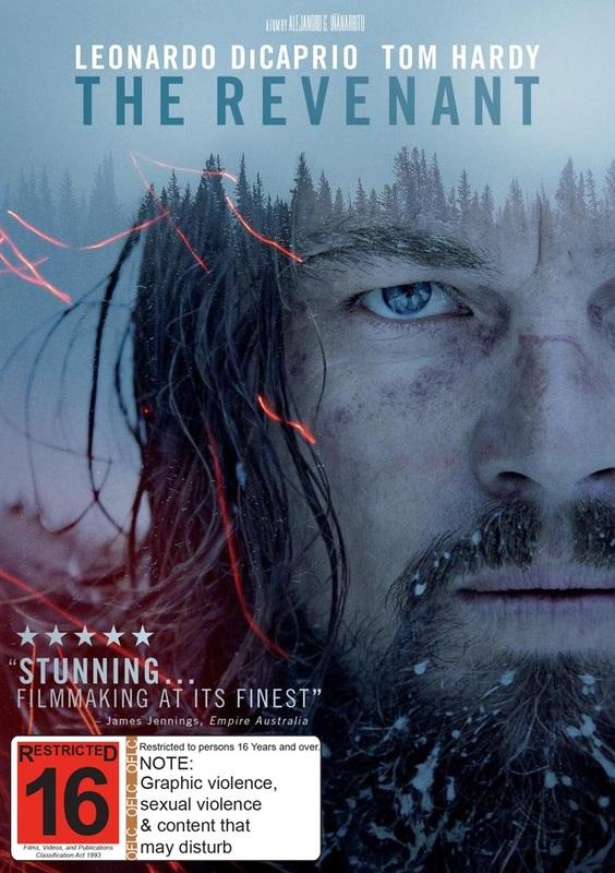 The Revenant on DVD