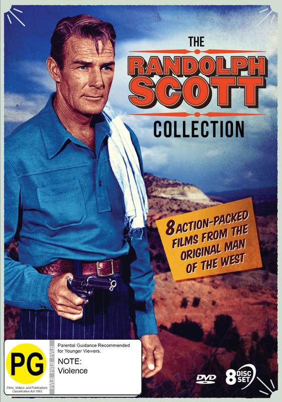 The Randolph Scott Collection on DVD
