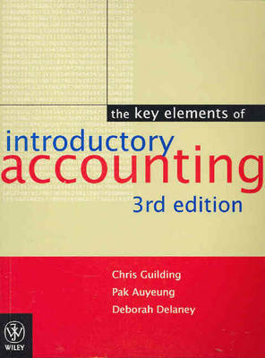 The Key Elements of Introductory Accounting by Chris Guilding image