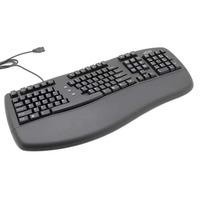 Belkin Ergoboard Pro Keyboard with 2 USB Ports (Black) image