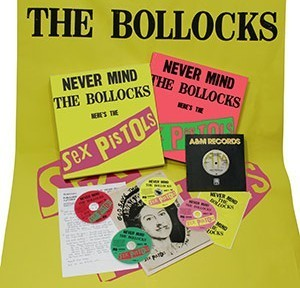Never Mind The Bollocks, Here's The Sex Pistols [Super Deluxe Edition Box Set] (3CD+DVD+Book+LP) by The Sex Pistols