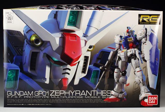 RX-78GP01 GP01 Zephyranthes 1/144 Model Kit image