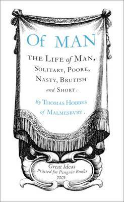 Of Man by Thomas Hobbes