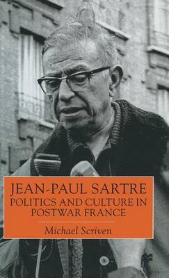 Jean-Paul Sartre by Michael Scriven