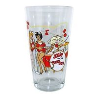Archie Comics Josie and the Pussycats Pint Glass