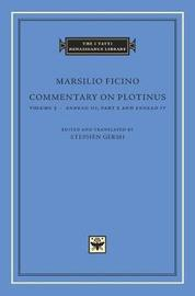 Commentary on Plotinus, Volume 5 by Marsilio Ficino image