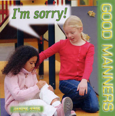 I'm Sorry! by Janine Amos image