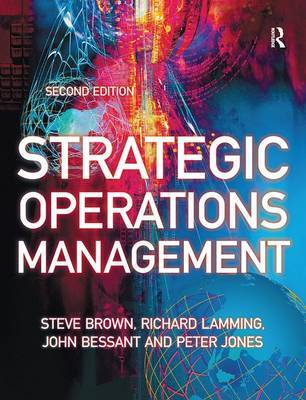 Strategic Operations Management by Steve Brown image