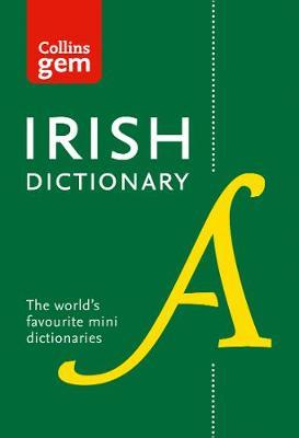 Collins Irish Gem Dictionary by Collins Dictionaries image