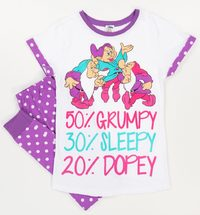 Disney: Seven Dwarfs (Polka-Dot) - Women's Pyjamas (12-14)