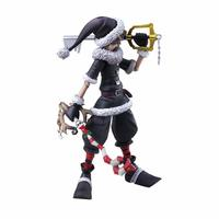 Kingdom Hearts II Bring Arts Sora Christmas Town Ver. - Action Figure