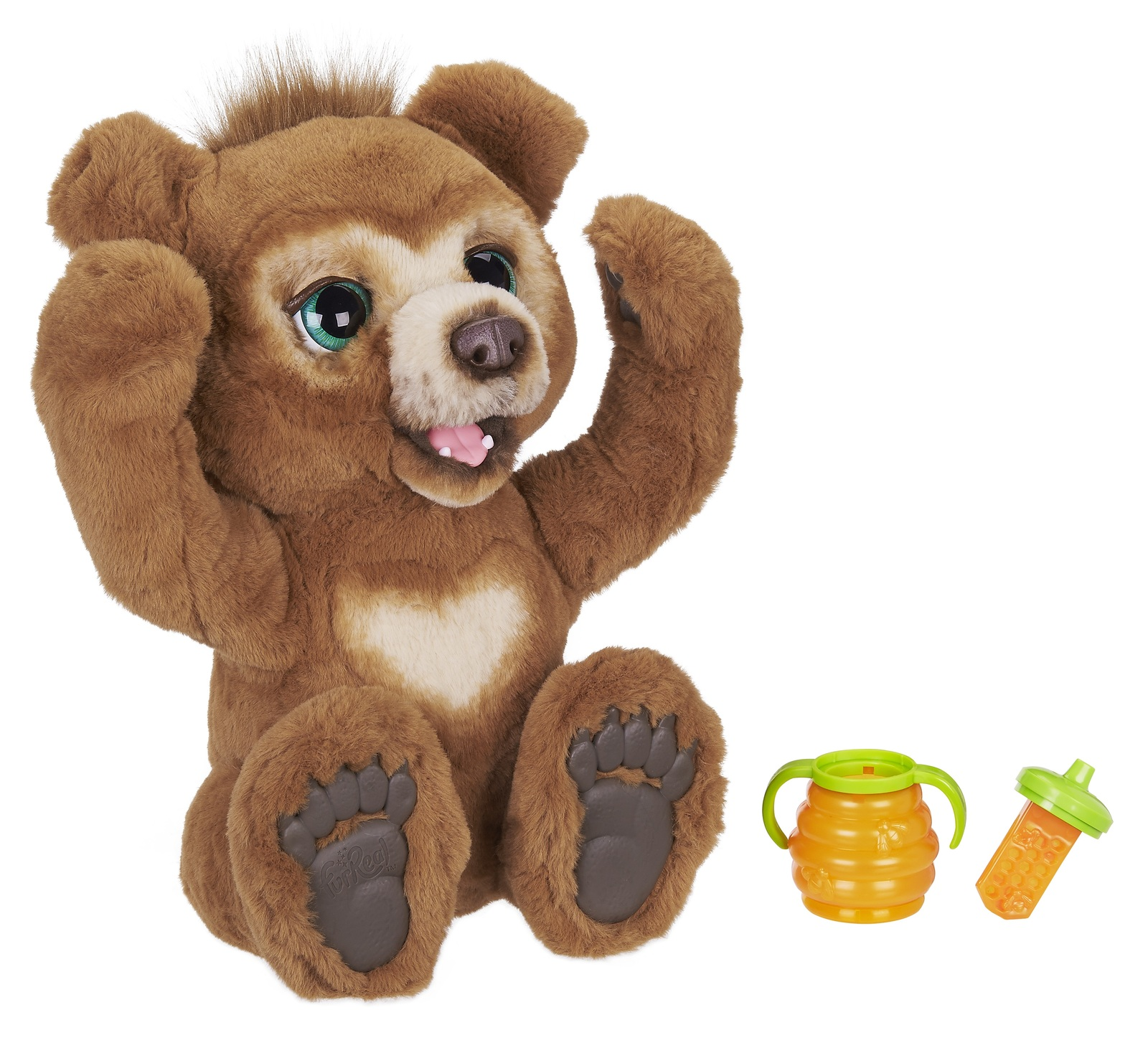 FurReal Friends: Cubby The Curious Bear - Interactive Plush image