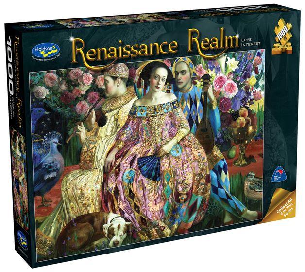 Holdson: 1000 Piece Puzzle - Renaissance Realm S2 (Love Interest)