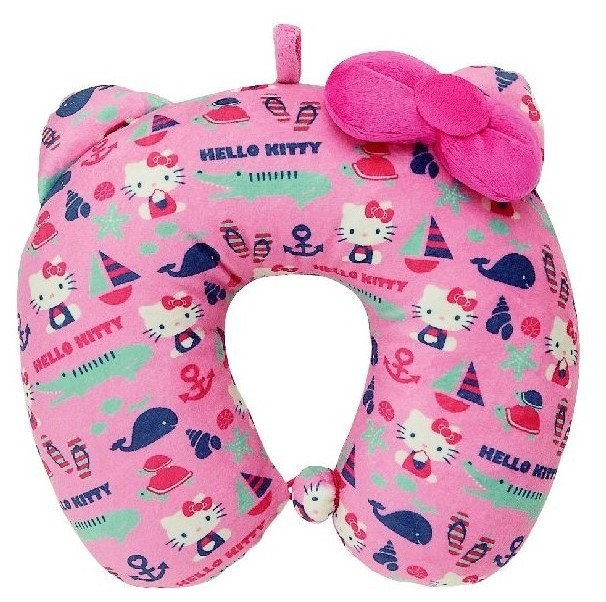 Hello Kitty: Neck Pillow for Kids