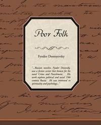 Poor Folk by Fyodor Dostoyevsky