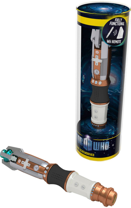 Doctor Who Sonic Screwdriver Wii Remote for Nintendo Wii