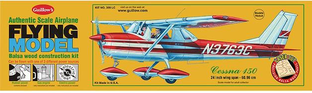 Cessna 150 1:16 Balsa Model Kit
