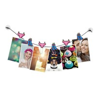 Clipit Hanging Note Clips - Laundry