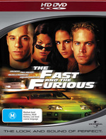 The Fast And The Furious on HD DVD