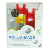 Roll-A-Maze 20pc Red/Yellow