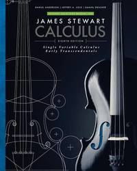 Student Solutions Manual for Stewart's Single Variable Calculus: Early Transcendentals, 8th by James Stewart