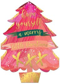 Hammond Gower: A Merry Little Christmas - Diecut Greeting Card