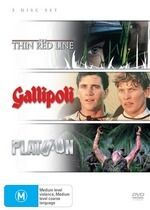 Thin Red Line / Gallipoli / Platoon (3 Disc Set) on DVD