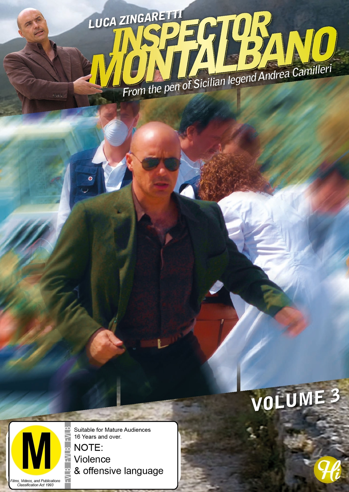 Inspector Montalbano - Vol 3 on DVD image
