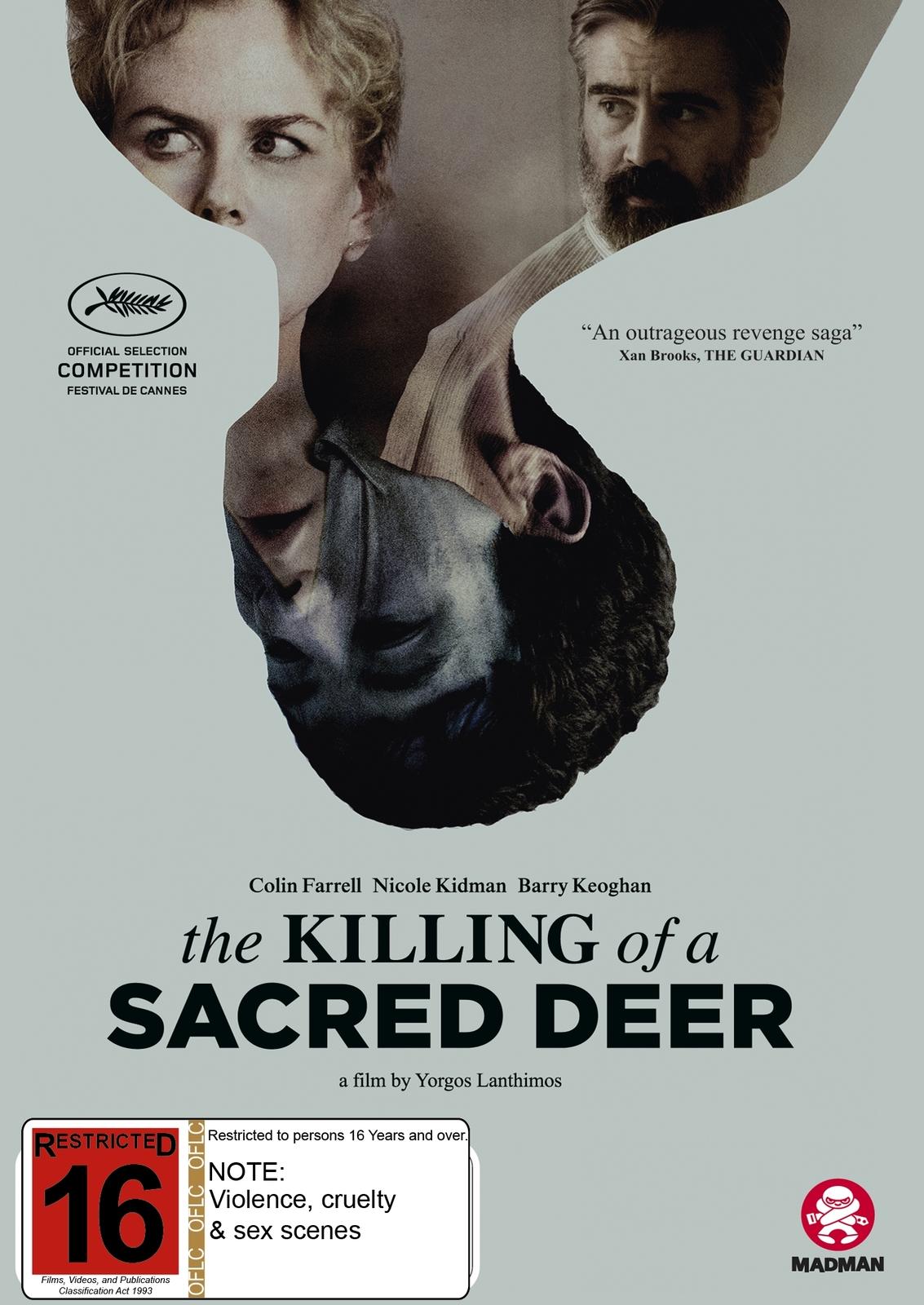 The Killing Of A Sacred Deer on DVD image
