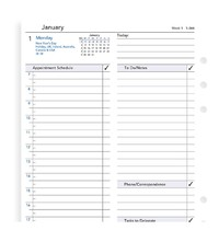 Filofax: A5 2019 Refill - Business Day per Page (Lined)