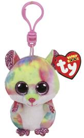 TY Beanie Boos: Rainbow Hamster - Clip On Plush
