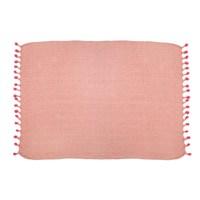 Sass & Belle: Nevada Pink Herringbone Throw image