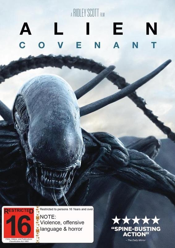 Alien: Covenant on DVD