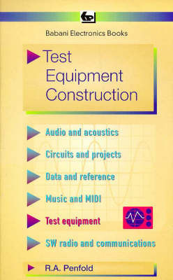 Test Equipment Construction by R.A. Penfold image