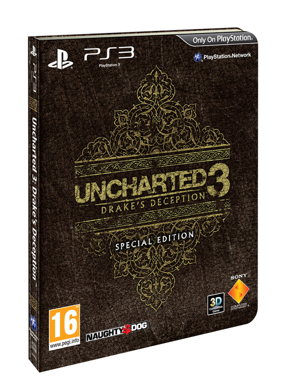 Uncharted 3: Drake's Deception Special Edition for PS3