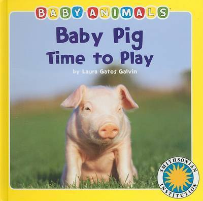Baby Pig Time to Play by Laura Gates Galvin